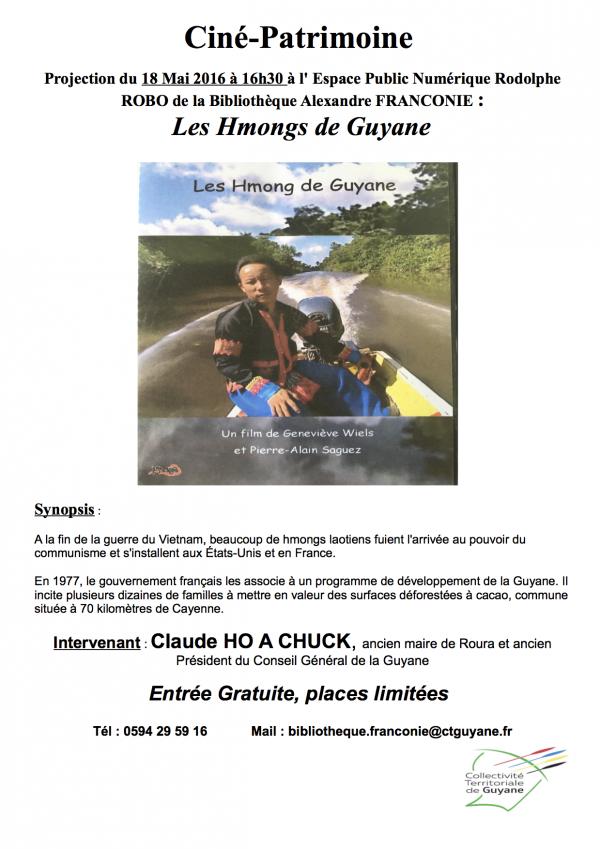 Projection Les Hmongs de Guyane (1)