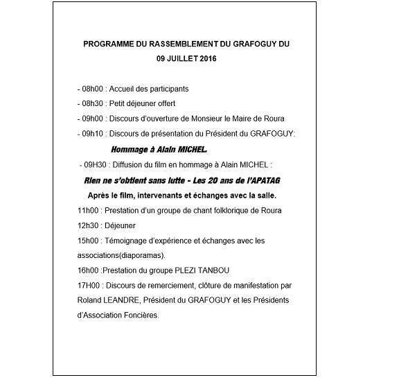 FLYER RASSEMBEMENT 09 JUILLET 2