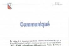 Conseil Municipal du
