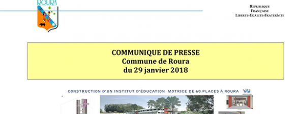 Annulation de la visite de l'établissement Institut d'Education Motrice à Roura