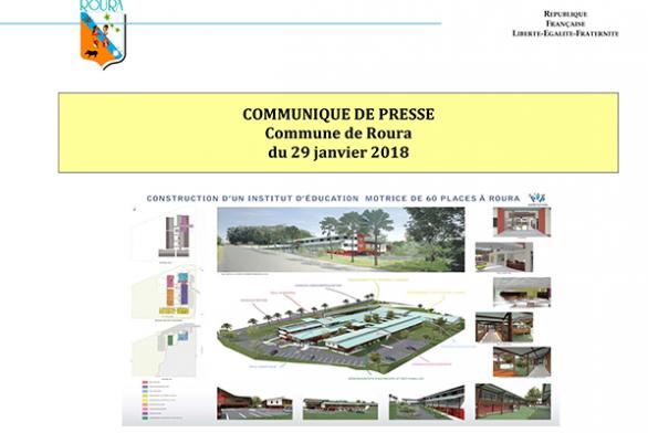 Annulation de la visite de l'établissement Institut d'Education Motrice à Roura