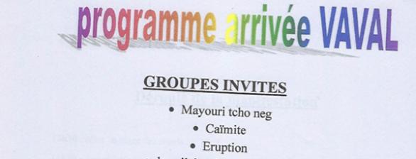 Arrivée du Roi Vaval à Roura