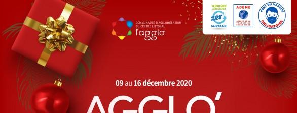 Agglo'Tour de Noël, le samedi 12 décembre 2020 de 9h à 13h