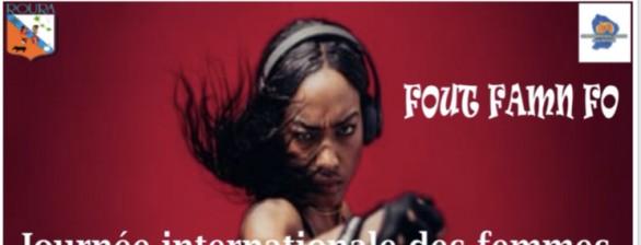 Journée de la femme - boxe