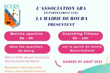 Marche sportive et coatching Fitness le samedi 7 août à 7H30