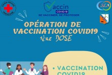 Opération de vaccination COVID-19