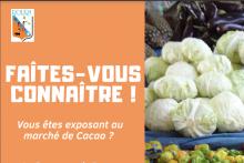 Exposants au marché de cacao : Formulaire à remplir
