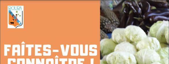 Exposants au marché du Bourg de Roura : Formulaire à remplir